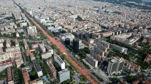 Baile de cifras en la Diada: ¿200.000 manifestantes en Barcelona o un millón?