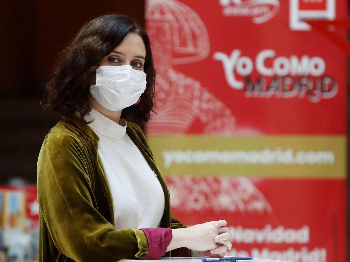 Foto: La presidenta de la Comunidad de Madrid, Isabel Díaz Ayuso, hoy. (EFE)