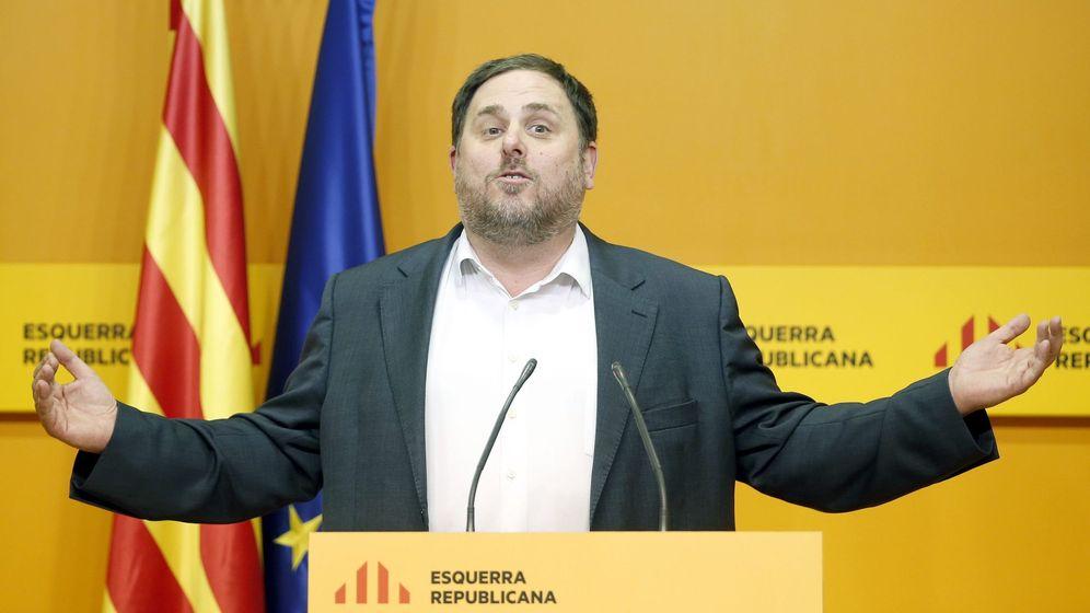 Foto: Oriol Junqueras en un acto de partido. (Efe)