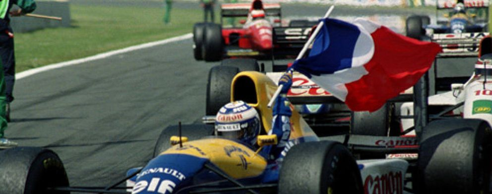 Resultado de imagen de GP Francia Alain Prost