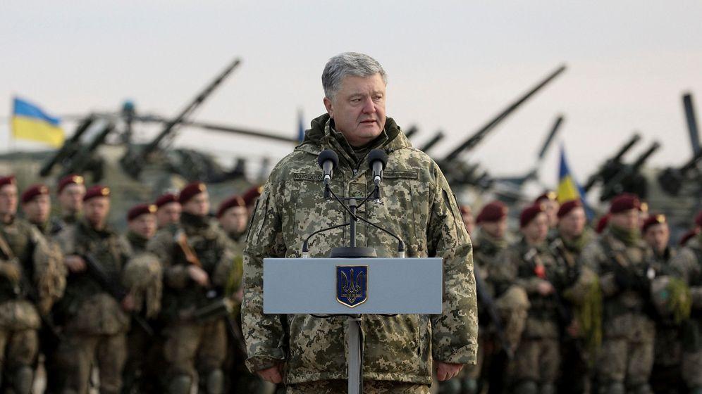 Foto: El presidente de Ucrania, Petro Poroshenko. (Reuters)
