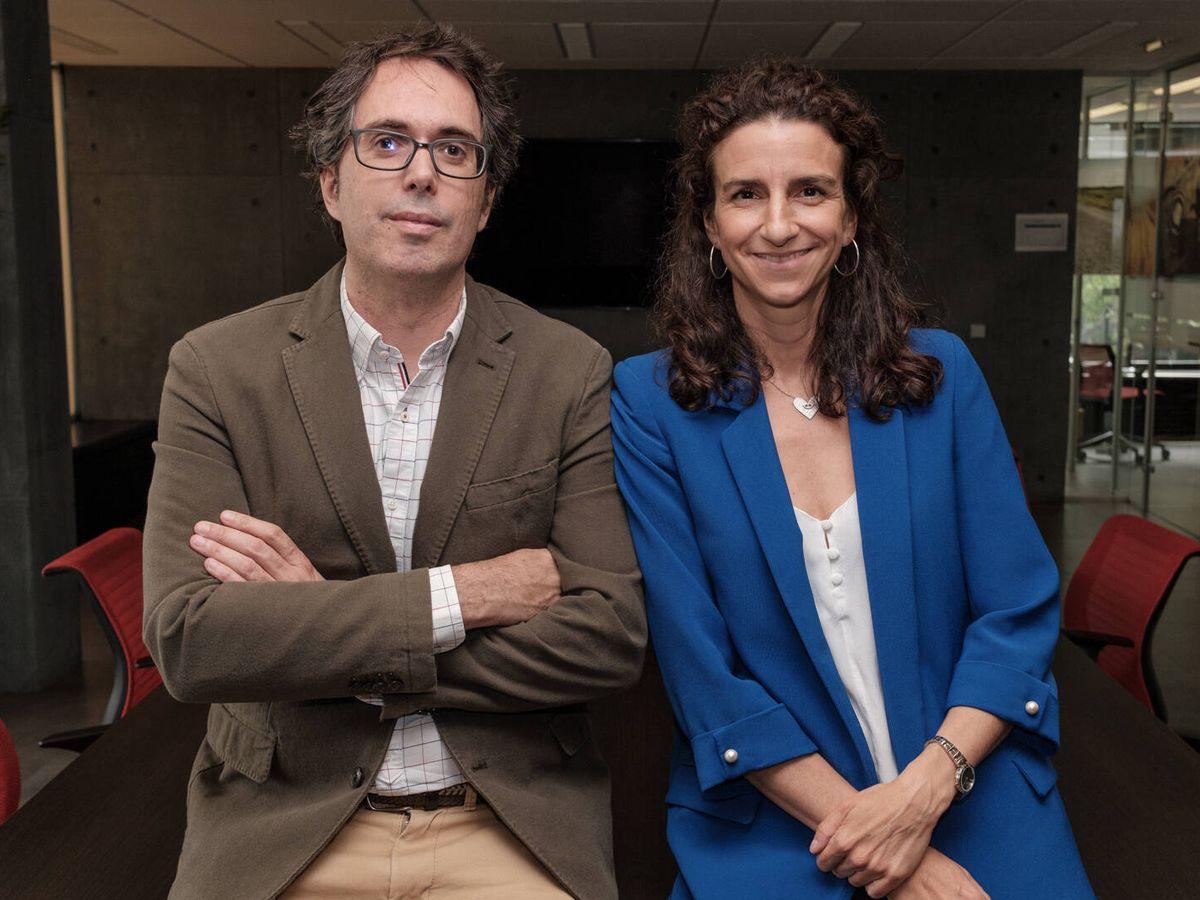 Foto: Los doctores Jorge Solís y Leticia Fernández-Friera. (S.B.)