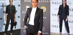 Post de Hiba Abouk: por qué el traje de chaqueta la ha convertido en un icono de estilo