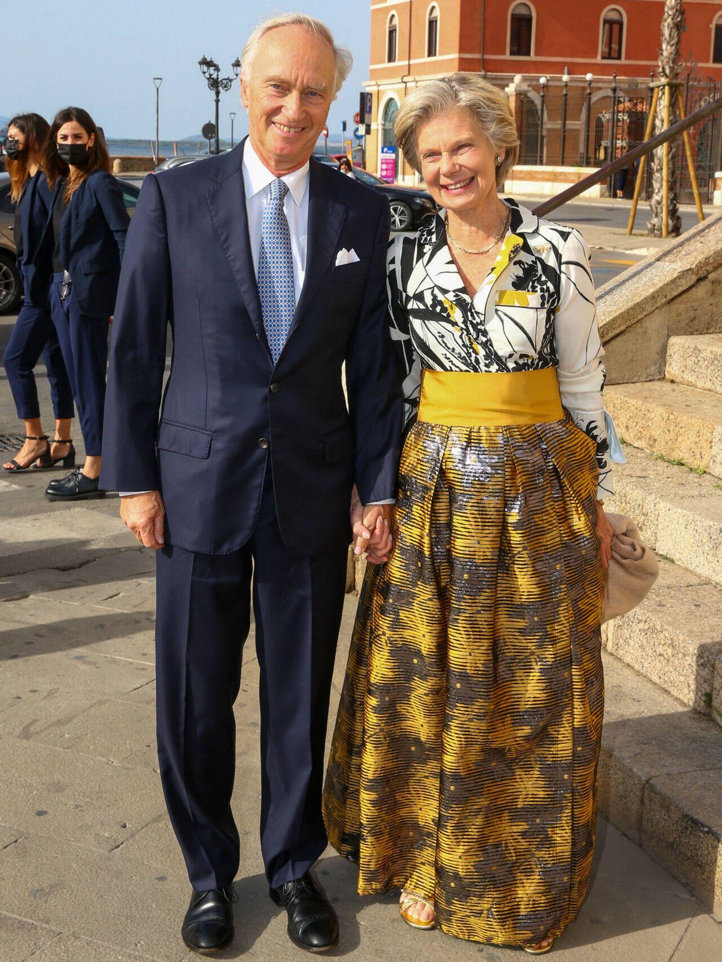 Christian de Habsburgo y Marie-Astrid de Luxemburgo. (Gtres)