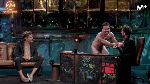 La irrupción de un hombre desnudo: la última de Broncano en 'La resistencia'