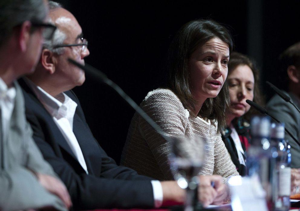 Foto: Susana de la Sierra durante su polémica intervención en el Festival de Málaga (EFE)