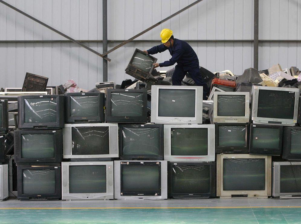 Foto: Empresa de reciclaje de electrodomésticos en China. (Reuters)