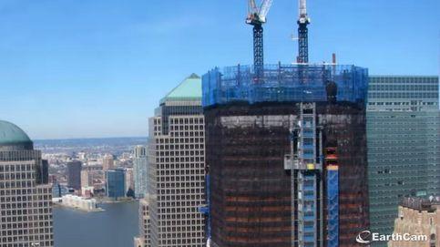 La construcción de la Torre de la Libertad, en menos de 60 segundos