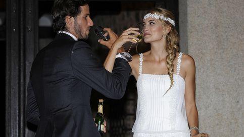 La historia de los tres vestidos de novia en la boda de Alba Carrillo y Feliciano