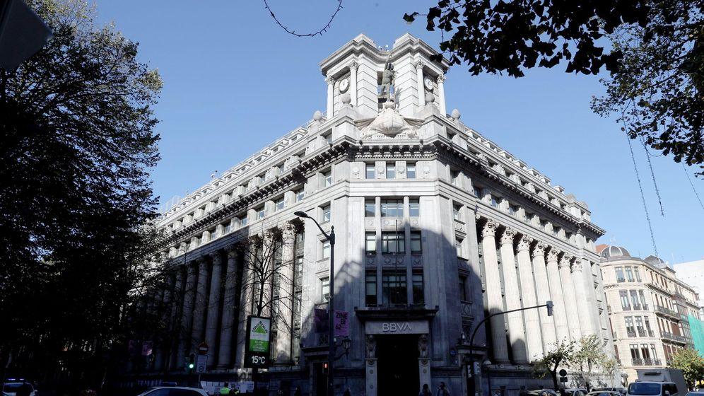 Foto: Sede central del BBVA. (EFE)