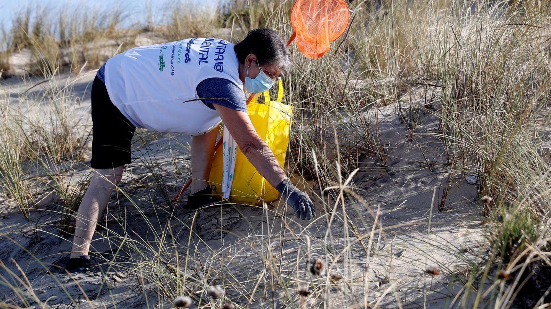 Limpieza de playas. (EFE)