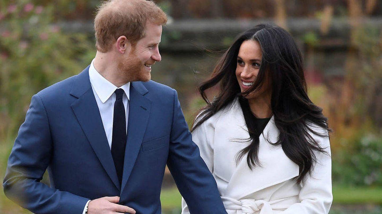 El príncipe Harry de Inglaterra y Meghan Markle anuncian boda. (Gtres)