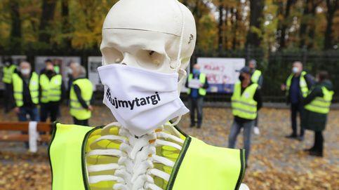 Manifestación en contra de las nuevas restricciones