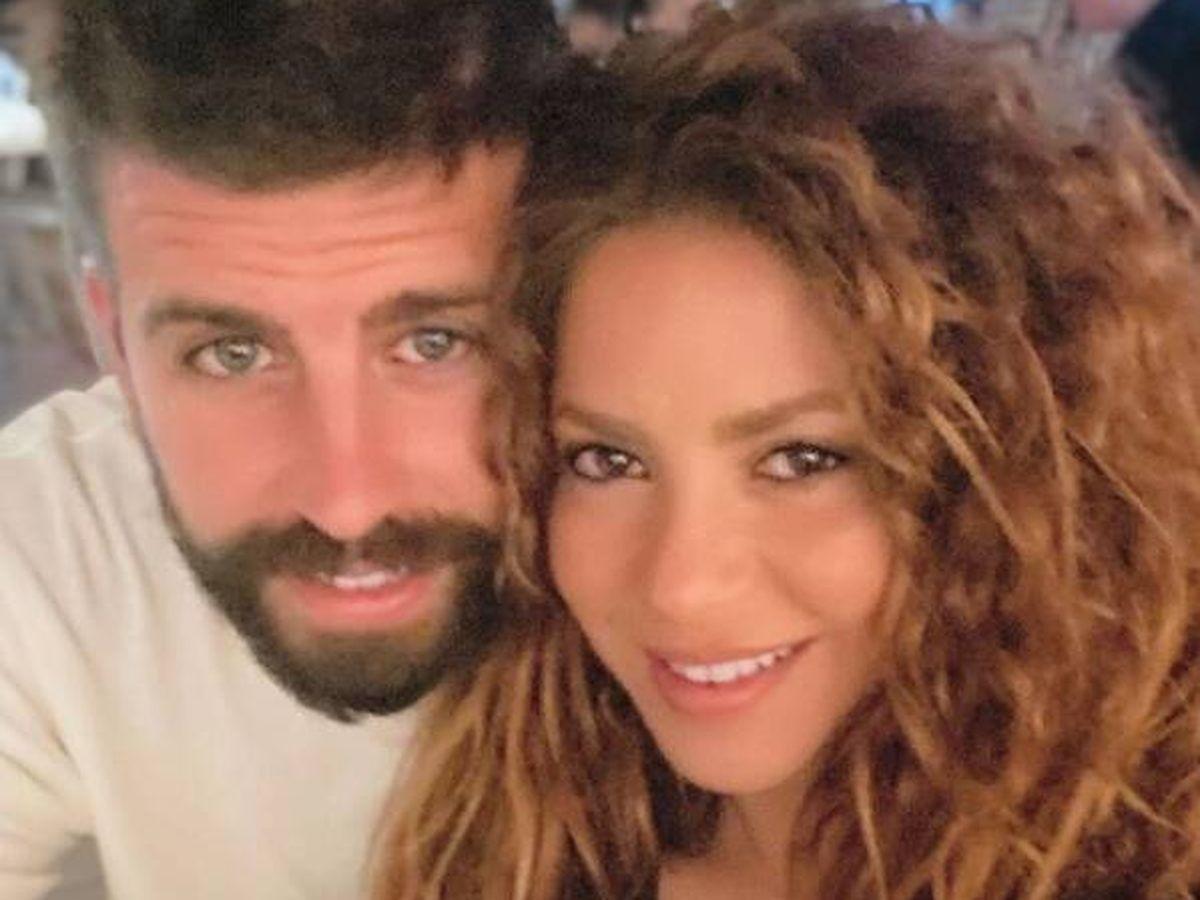 Foto: Piqué y Shakira, sin filtros en sus redes. (Instagram @3gerardpique)