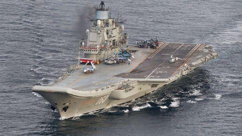 La OTAN tacha de inusual el despliegue del portaaviones ruso que atacará Siria