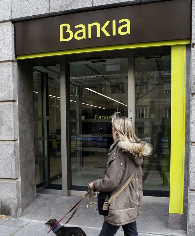 Foto: Una sucursal de Bankia en Madrid. (EFE)