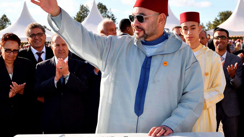 Mohamed VI, en un acto público. (EFE)
