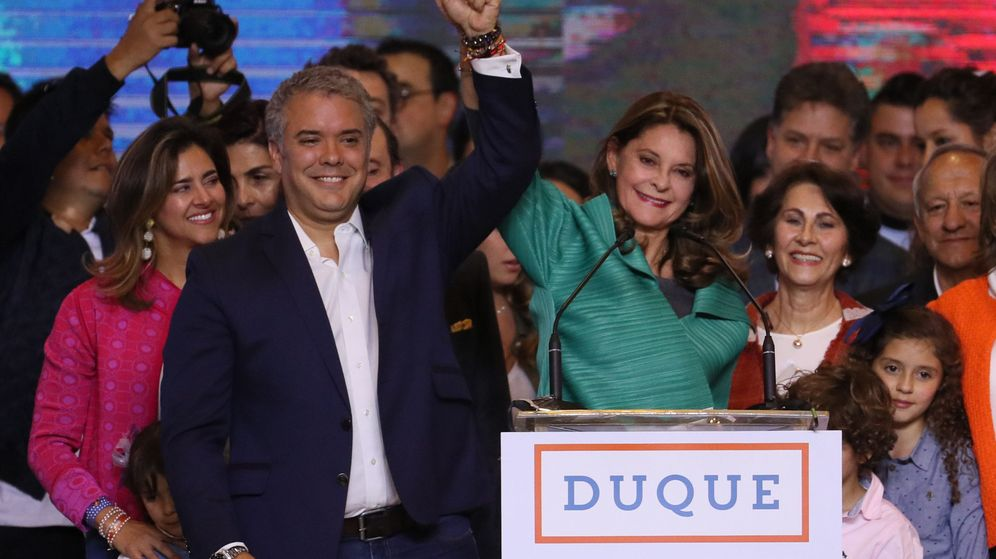 Foto: Iván Duque, el candidato 'uribista' que se ha convertido en presidente electo de Colombia | EFE