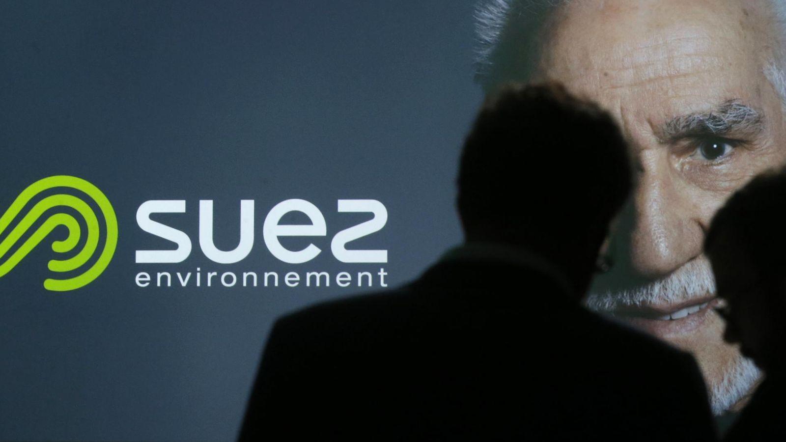 Foto: Logo de Suez Enviroment. (Reuters)