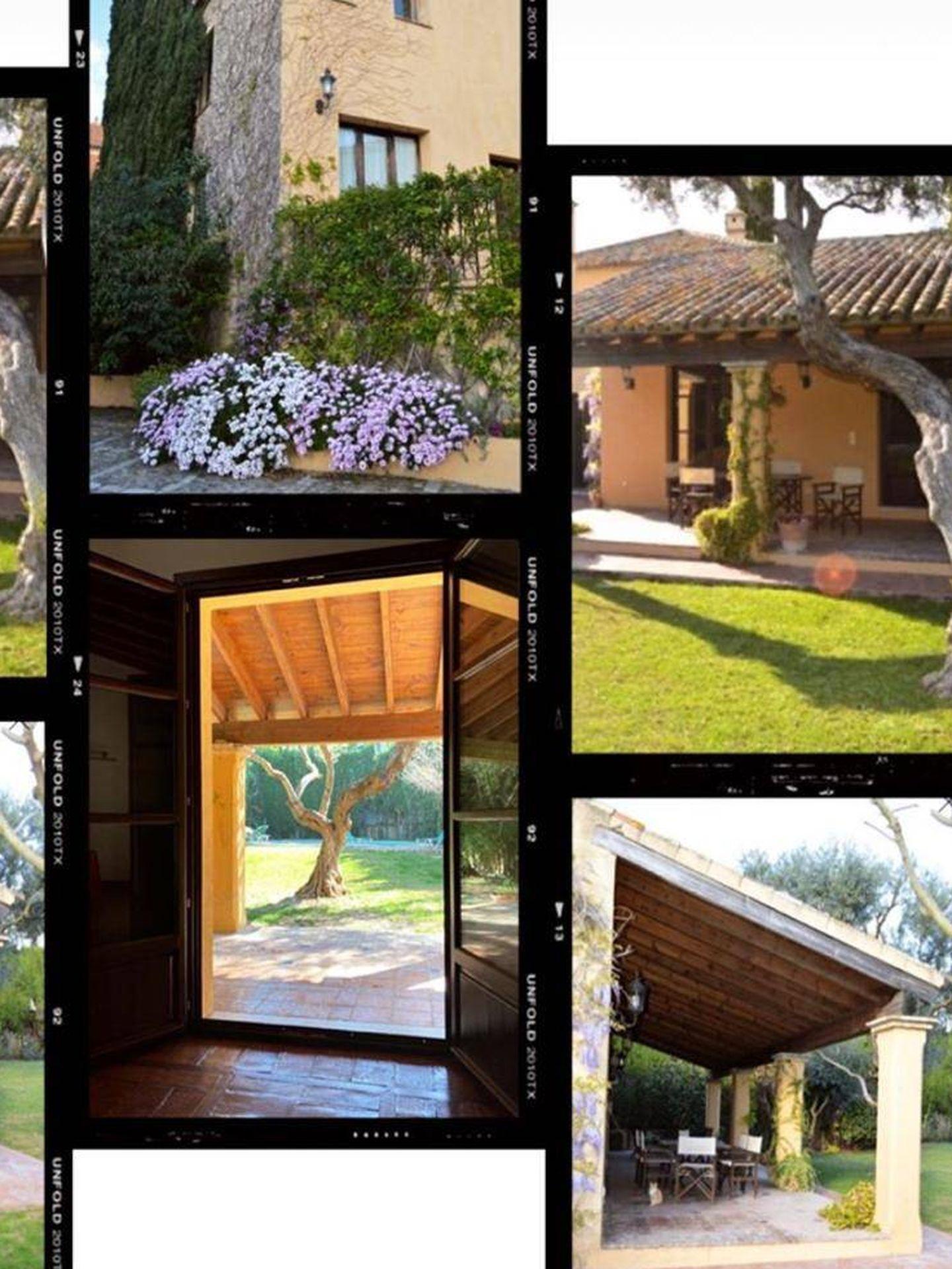 Montaje de la nueva casa de Rocío Osorno. (@Rocio0sorno)