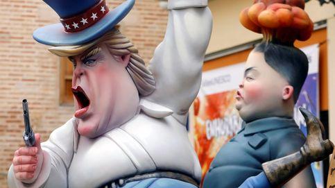 Merkel presta juramento de su cargo y Trump y Kim Jong-un arderán en Fallas: el día en fotos