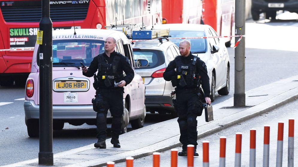 Foto: Escena de un atentado en Londres el pasado noviembre. (EFE)