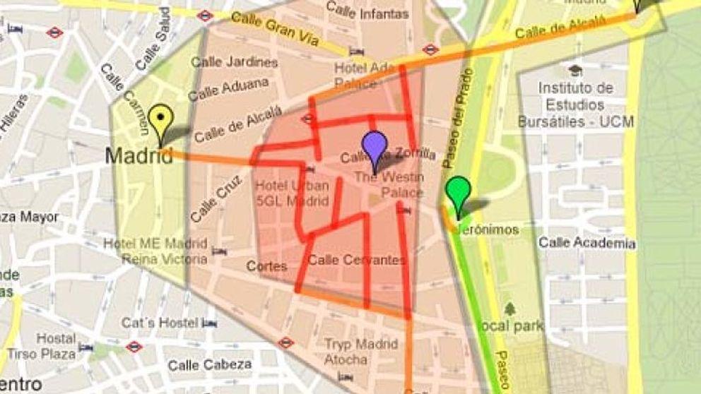El mapa del 25-A para asaltar el Congreso
