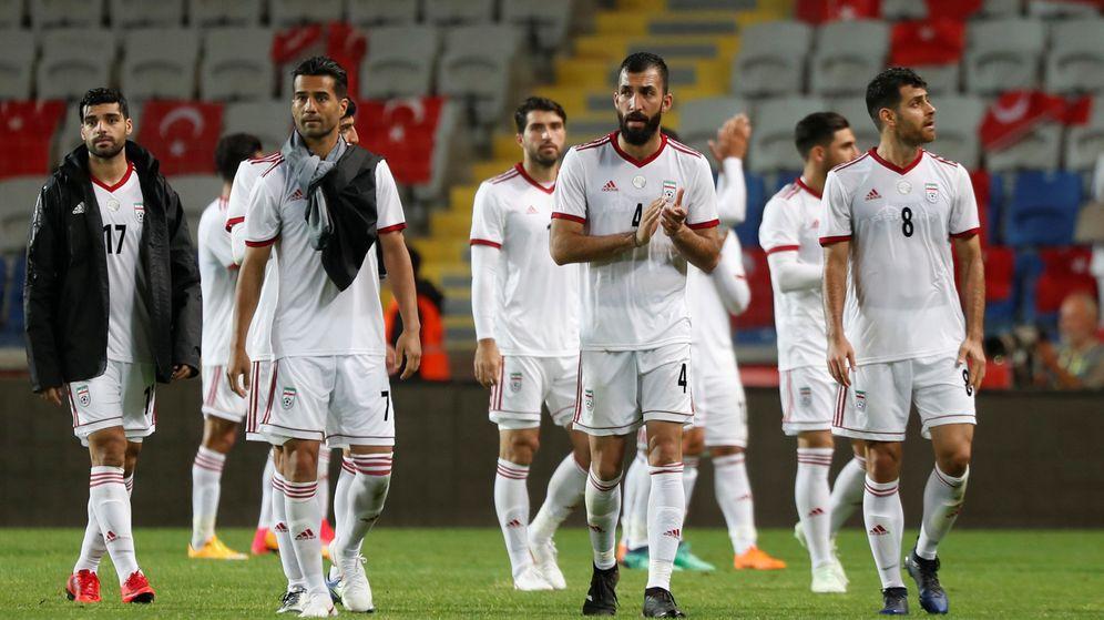 Foto: La selección de Irán, durante un amistoso | Reuters