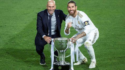 Disfruta de la vida: la despedida de un afectado Ramos a un Zidane que se va solo