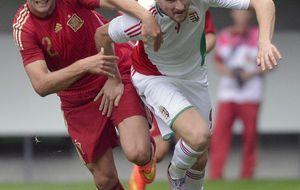 Saúl sella la clasificación de la Sub 21 en el inicio de la era de Celades