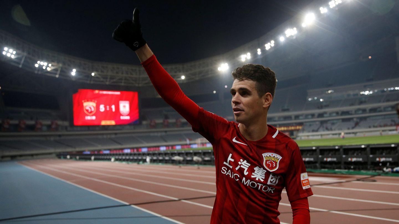 Oscar, en la Superliga china.
