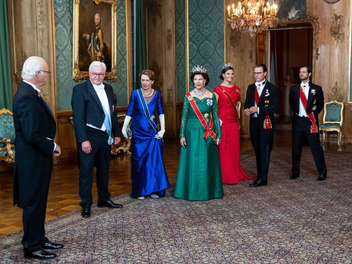 Foto: Cena de gala en el Palacio Real. (Cordon Press)