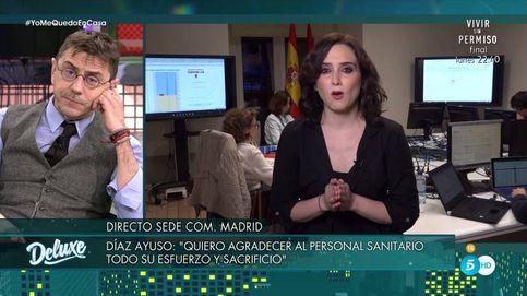 'Sábado Deluxe' | Isabel Díaz Ayuso frena a Monedero: Esto es serio, no para hacer política