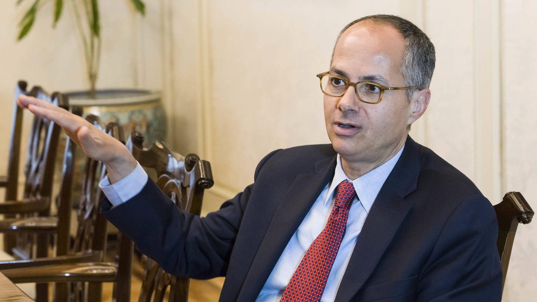 El químico jordano-estadounidense, durante la entrevista (FBBVA)