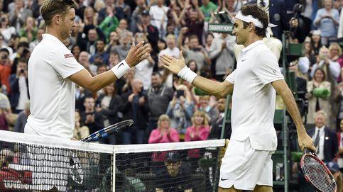 Marc Willis ya puede decir que perdió con Federer en la central de Wimbledon