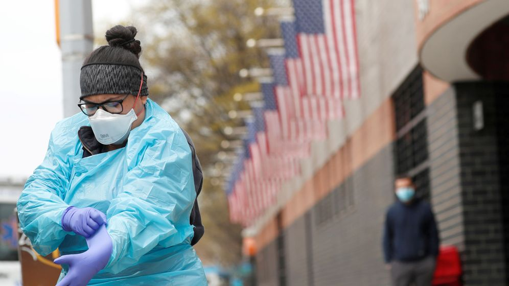 Foto: Hospital Elmhurst en Nueva York (Reuters)