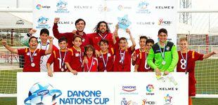 Post de La EF Chiclana dominó la Fase Sur de la Danone Nations Cup