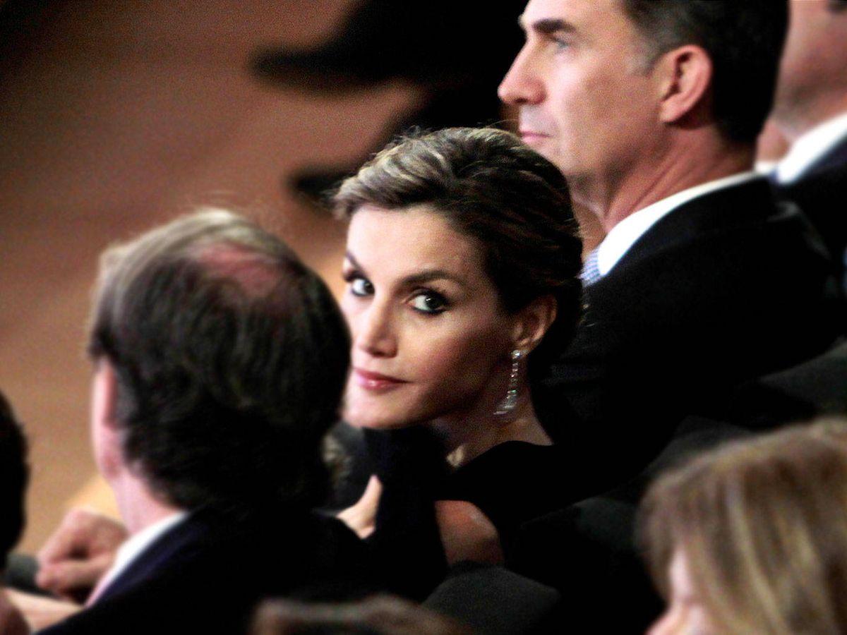 Foto: La reina Letizia, en Barcelona. (Getty)
