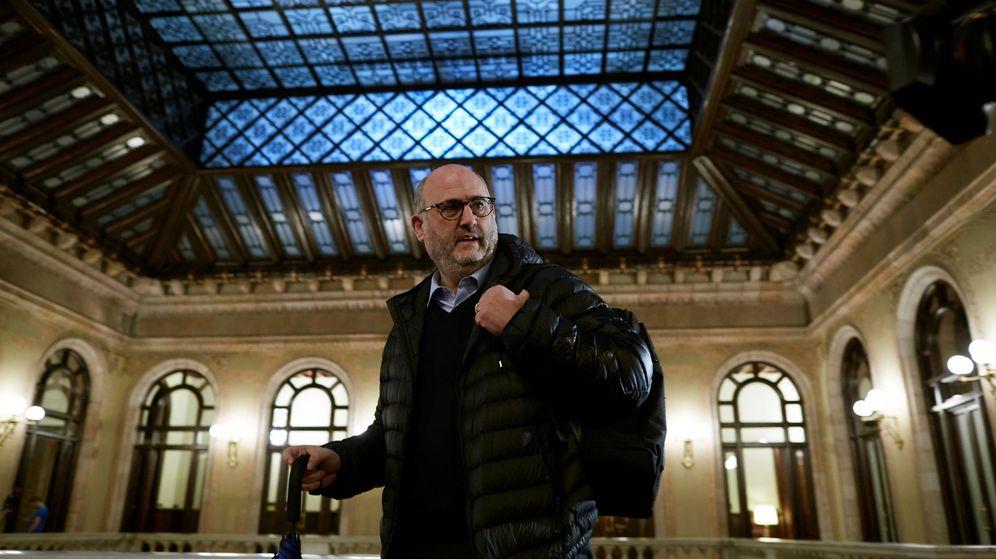 Foto: El portavoz de Junts per Catalunya, Eduard Pujol. (EFE)