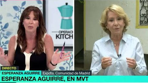 Utilice bien el lenguaje: Aguirre dinamita su charla con Mamen dándole lecciones
