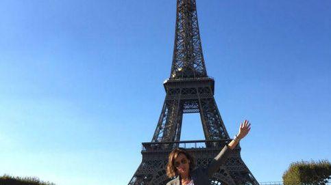 Nieves Álvarez, de nuevo niña para apoyar a los franceses