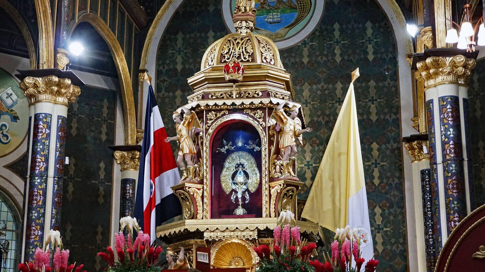 Foto: Nuestra Señora de los Ángeles, patrona de Costa Rica (Wikipedia)