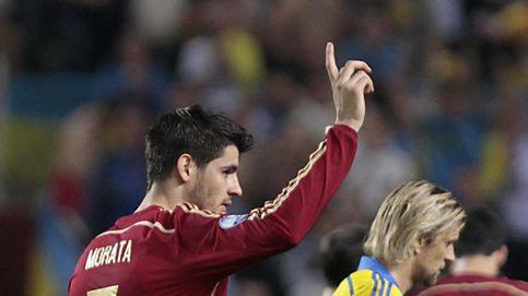 La indiscutible 'BBC' robó espacio a Morata, el '9' de la Selección