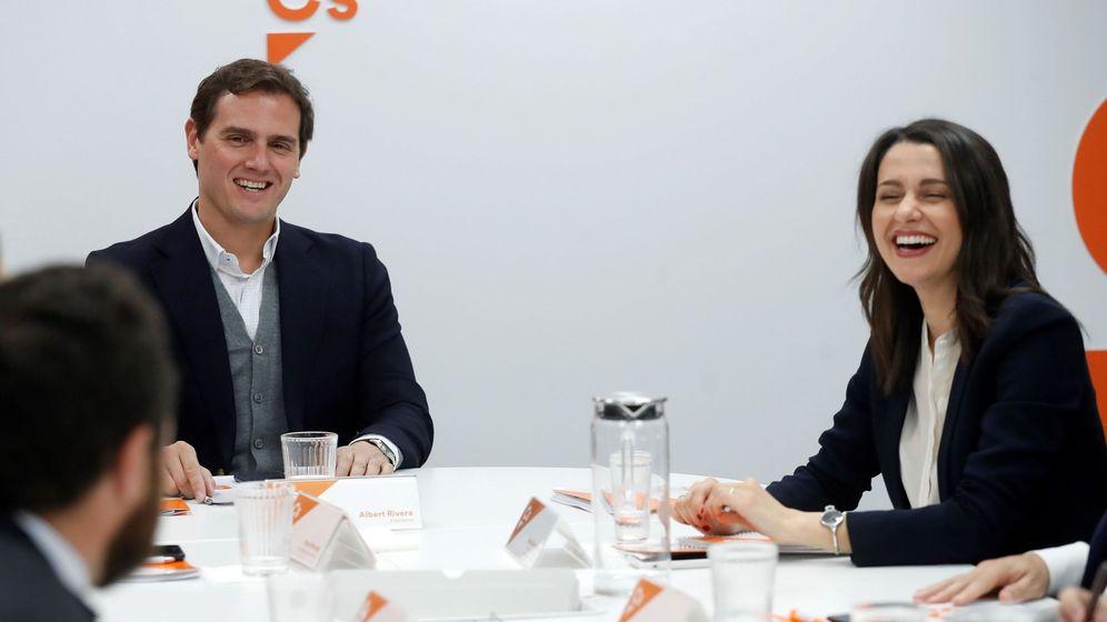 Foto: Rivera y Arrimadas en una imagen de archivo. (EFE)