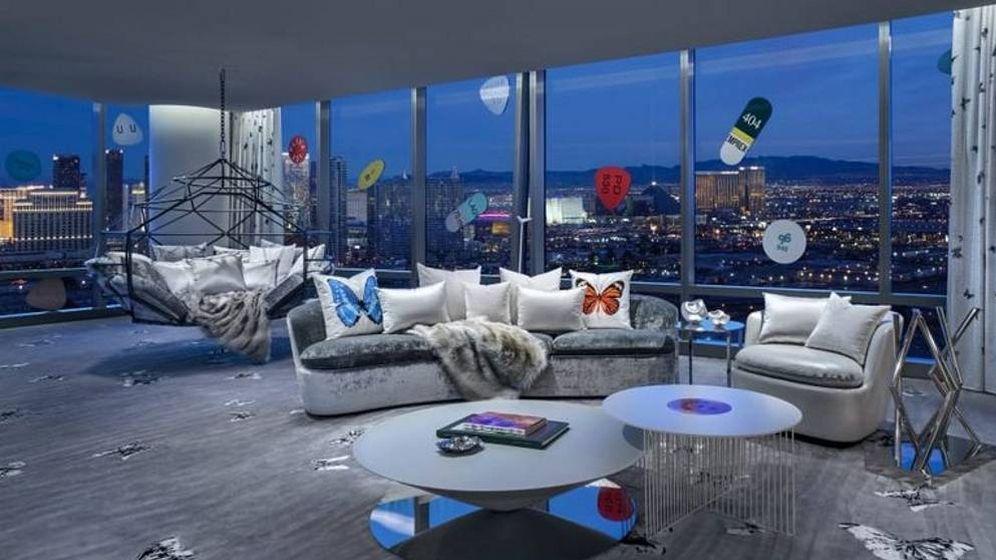 Foto: Mayordomo, chófer y tiburones: así es la habitación de hotel más cara del mundo. (The Palms Casino Resort)