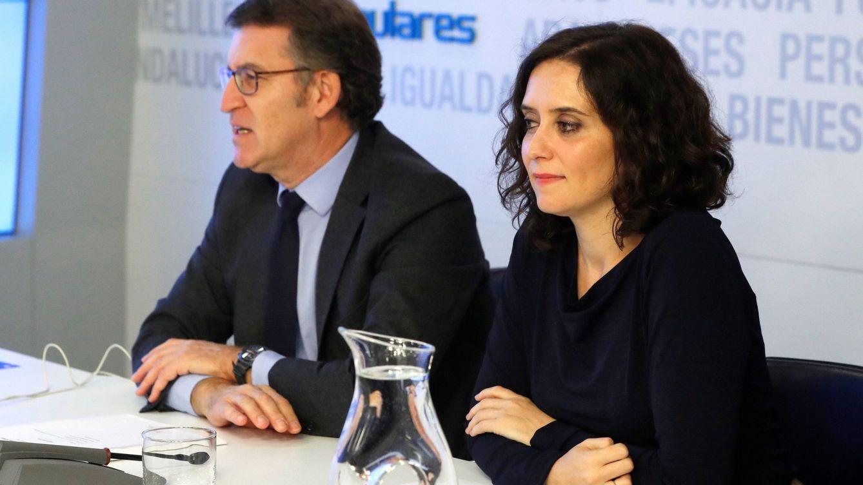 Feijóo ve el triunfo de Ayuso positivo para Casado y un anticipo de lo que busca España