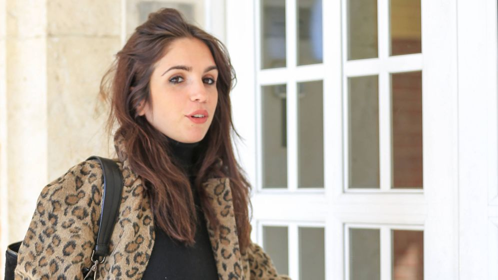 Foto: La actriz Elena Furiase en una imagen de este miércoles. (Gtres)