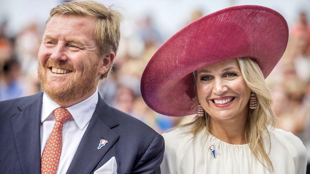 Foto: Los reyes de Holanda, en Terneuzen. (EFE)
