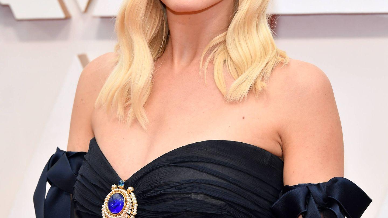 Margot Robbie, como una diosa del Hollywood clásico. (Getty)