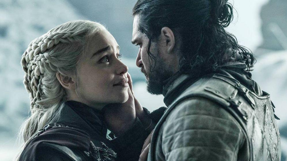 Foto: Daenerys Targaryen y Jon Nieve. (HBO)